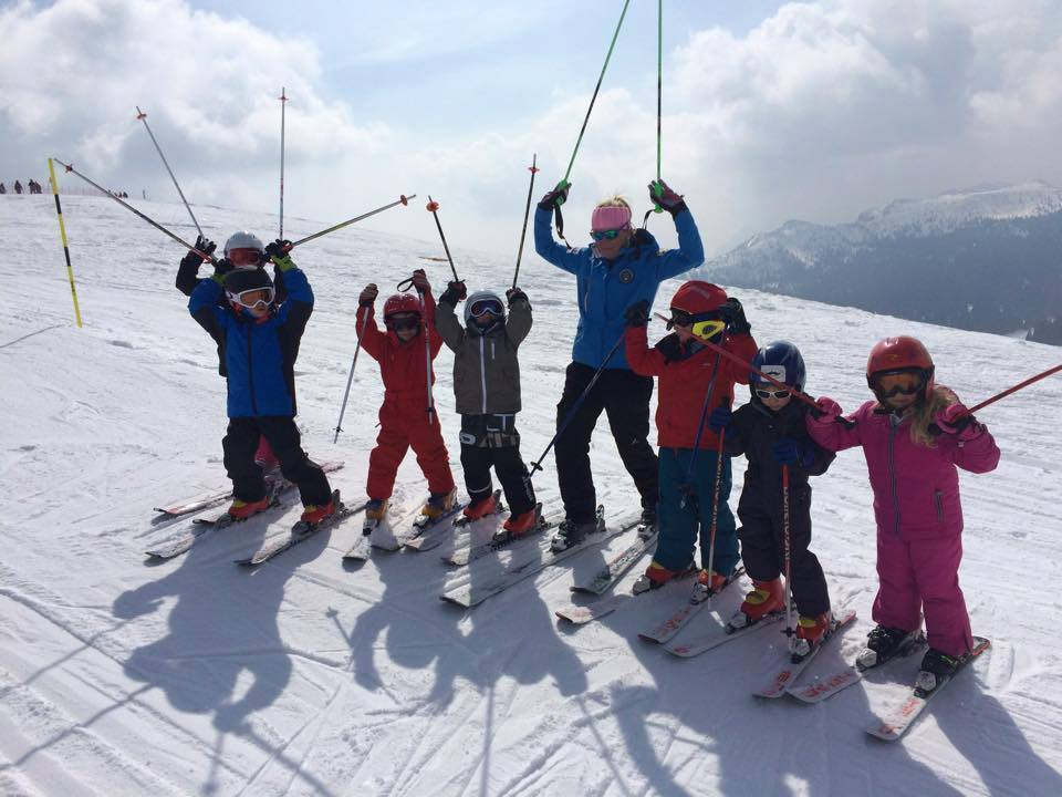 bambini scuola sci alpecimbra