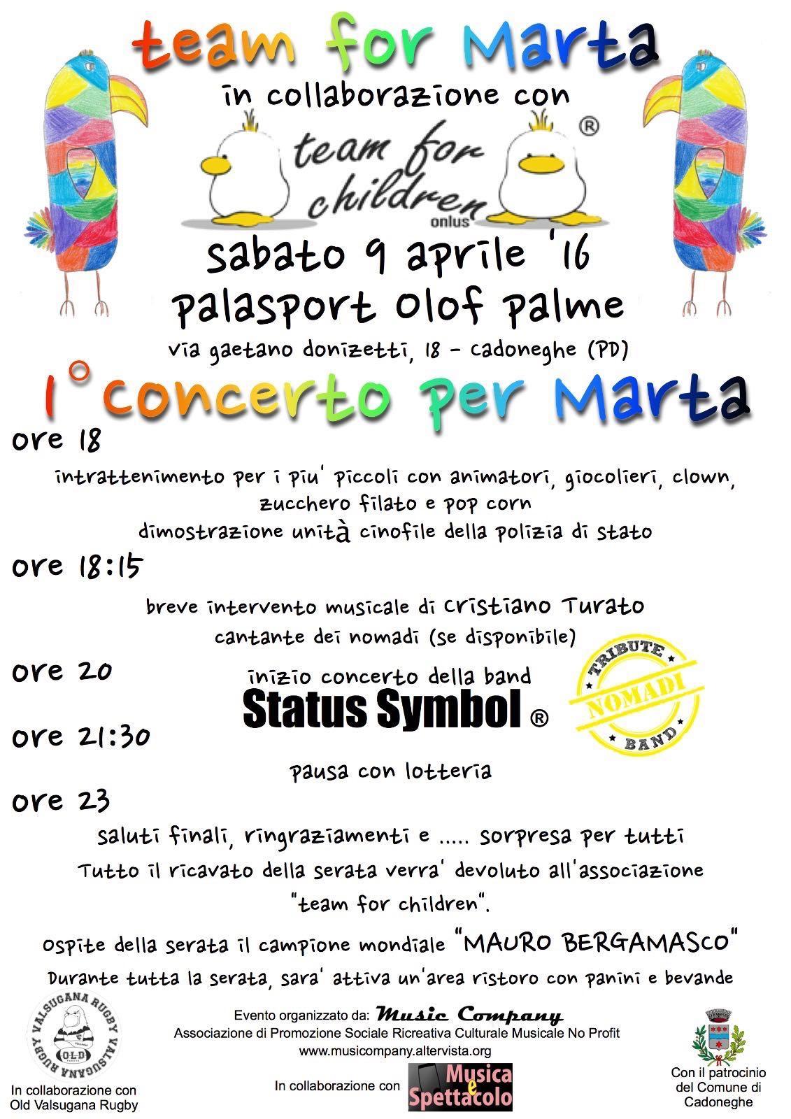 Festa in ricordo a Marta Magosso