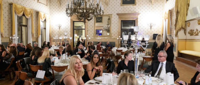 PADOVA - 15 Settembre 2017:  serata di gala di Team for Children presso il caffè Pedrocchi. (Photo by Nicolo Zangirolami/YAK Agency)