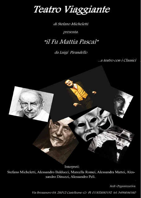 Il fu Mattia Pascal – BRESCIA
