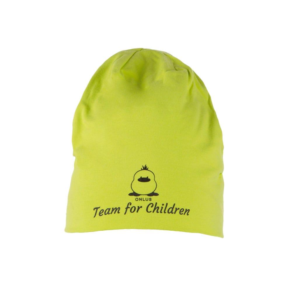 cappello_invernale_bambino_verde_fronte