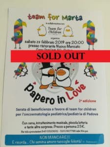 papero in love sold out